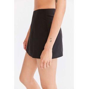 Cooperative Mini A-Line Skirt